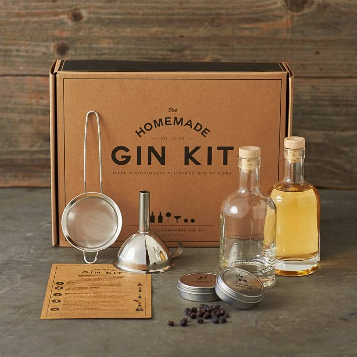 photo of the homemade gin kit