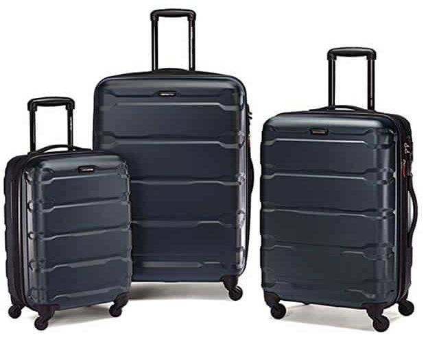 photo of luggage trio set