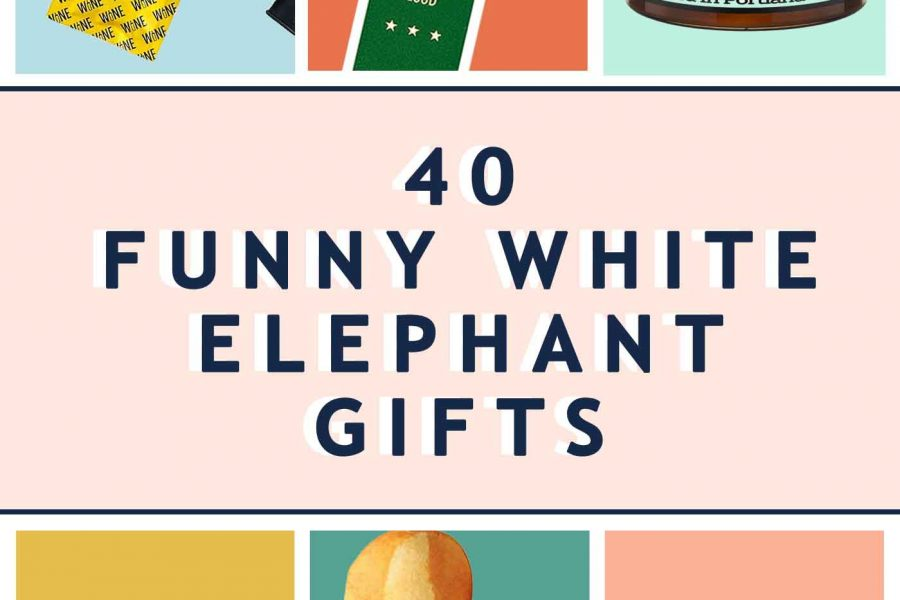 Funny White Elephant Gift Ideas header image by Sugar and Cloth - Header Image 1