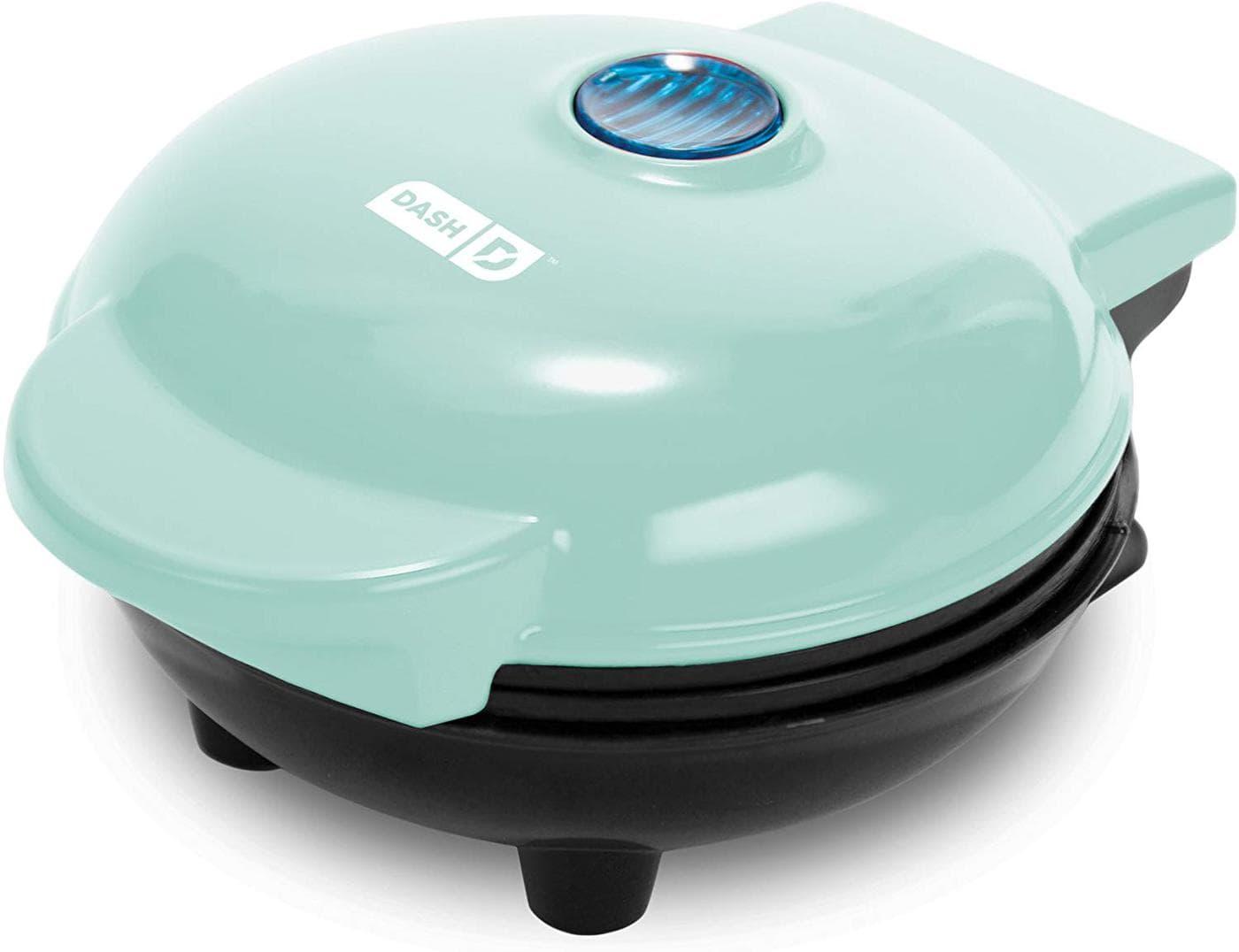 photo of mini grill in mint green