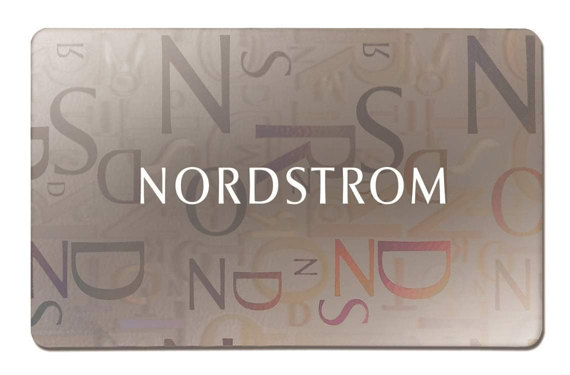 photo of a Nordstrom gift card
