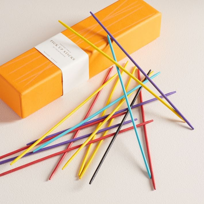 photo of pick up sticks boxed game