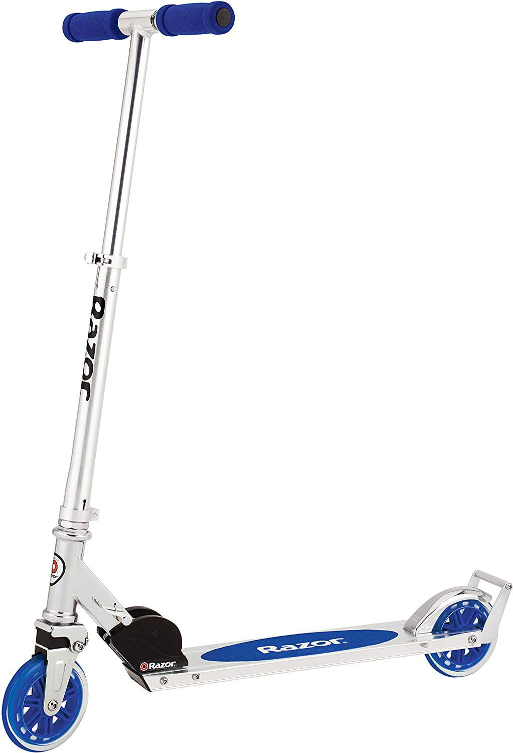 photo of a razor scooter