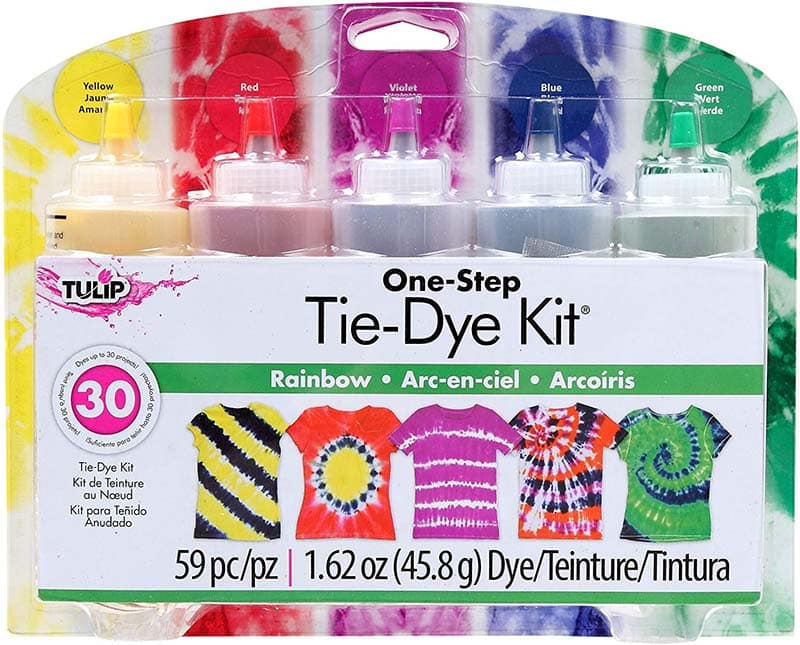 photo of tie dye kit