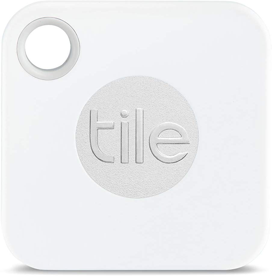 photo of a Tile Mate tile tag