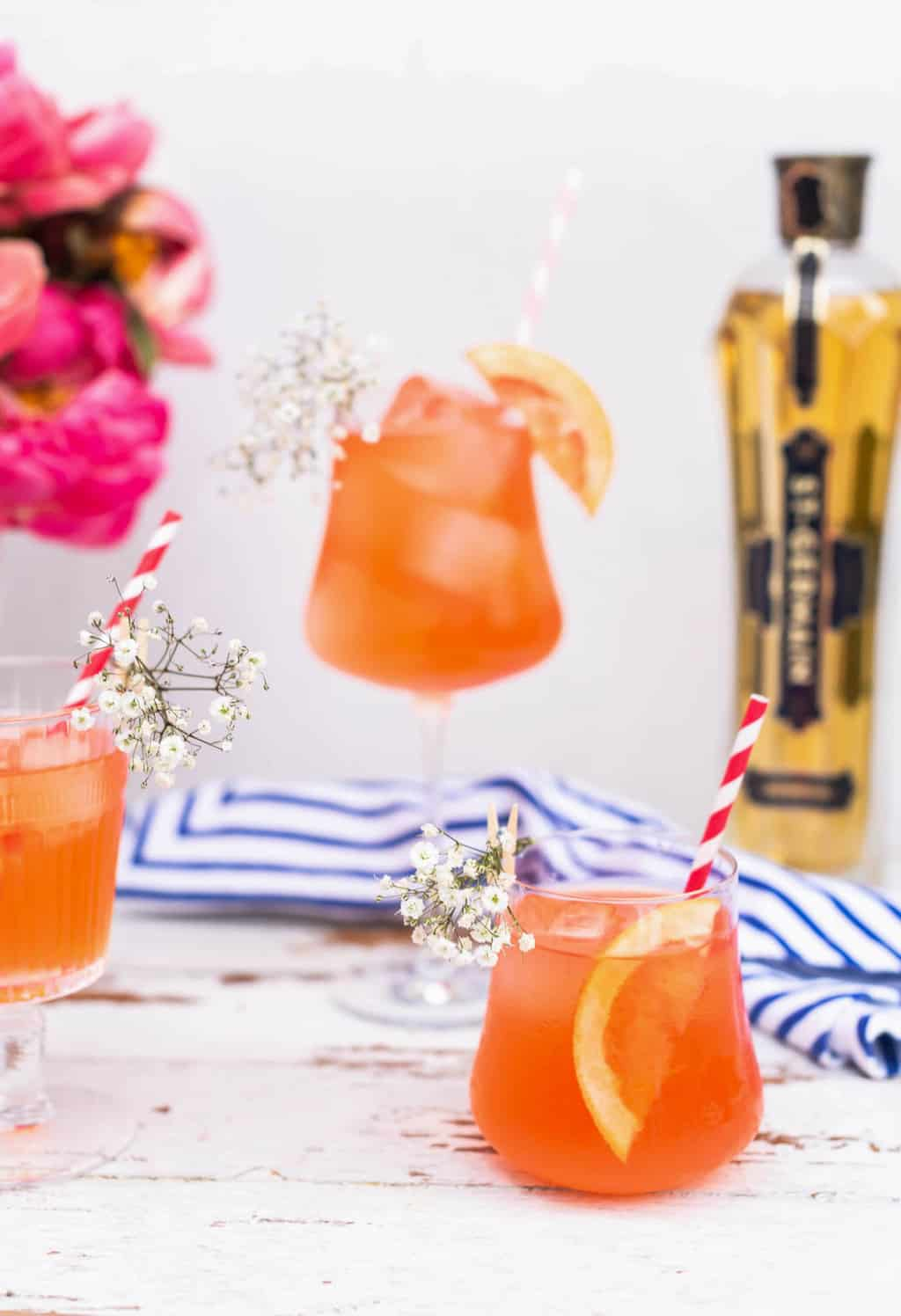 photo of how you can add a twist to with elderflower liquor to a classic cocktail by top Houston lifestyle blogger Ashley Rose of Sugar & Cloth
