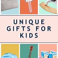 graphic image of unique gifts for kids and best toys for kids