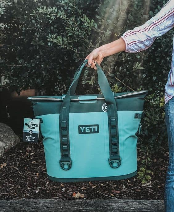 a gender neutral yeti cooler bag