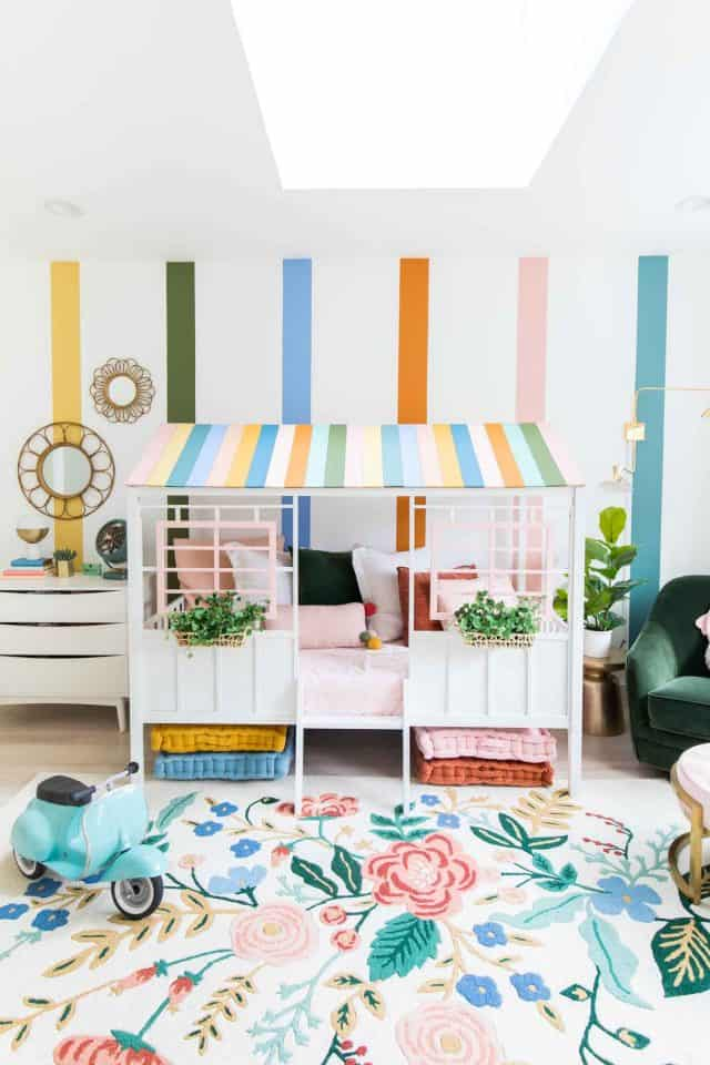 Little Girl Room Ideas Gwen S Toddler Girls Bedroom Before After