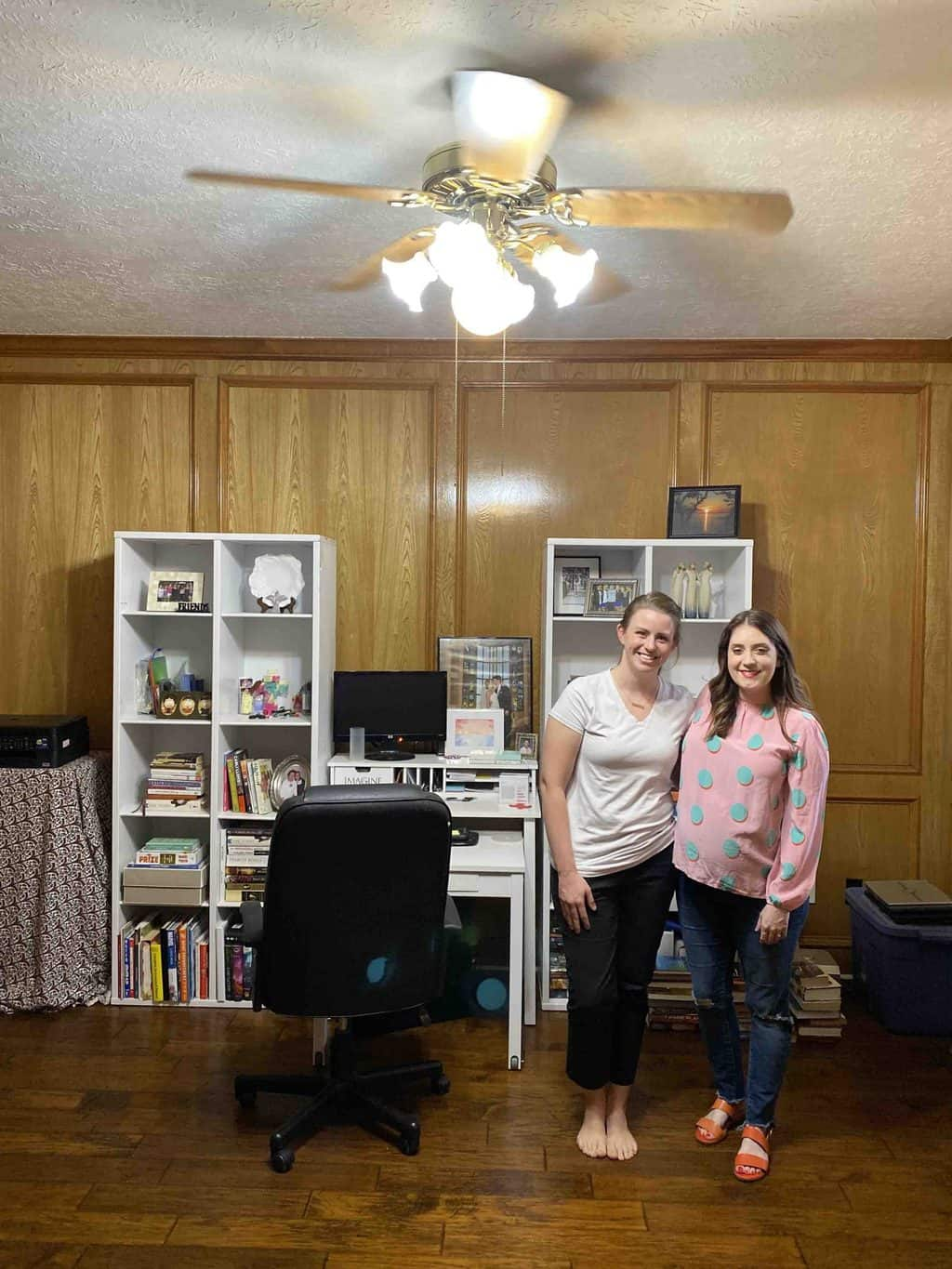 before photo of our picmonkey office makeover