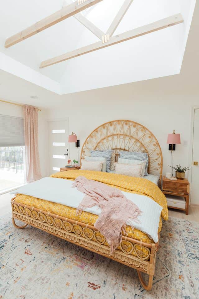 Before After Our Lakeside Master Bedroom Design Sugar Cloth