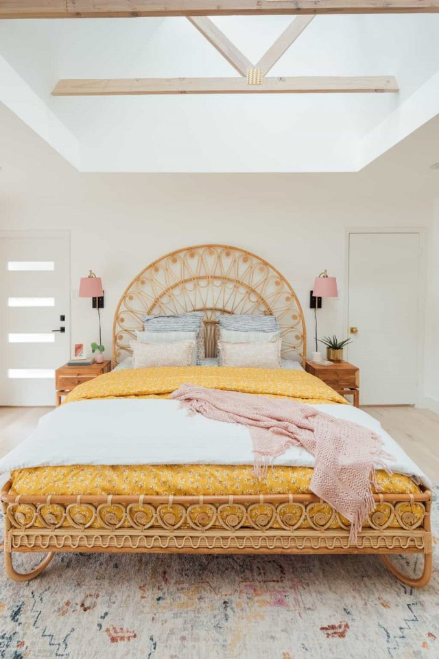 photo of a master bed design
