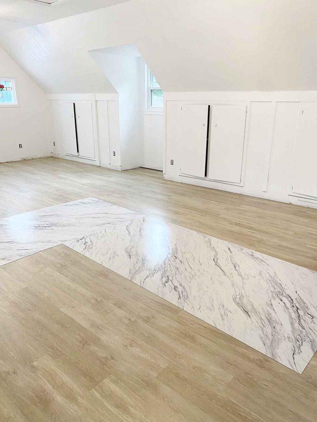 new garage apartment floors