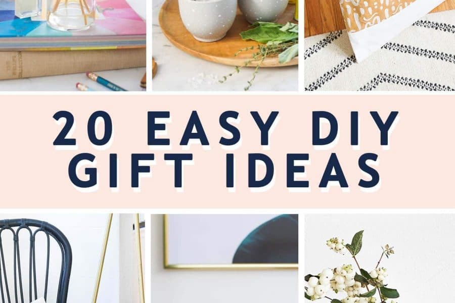 photo of 20 easy diy gift ideas by top Houston lifestyle blogger Ashley Rose of Sugar & Cloth