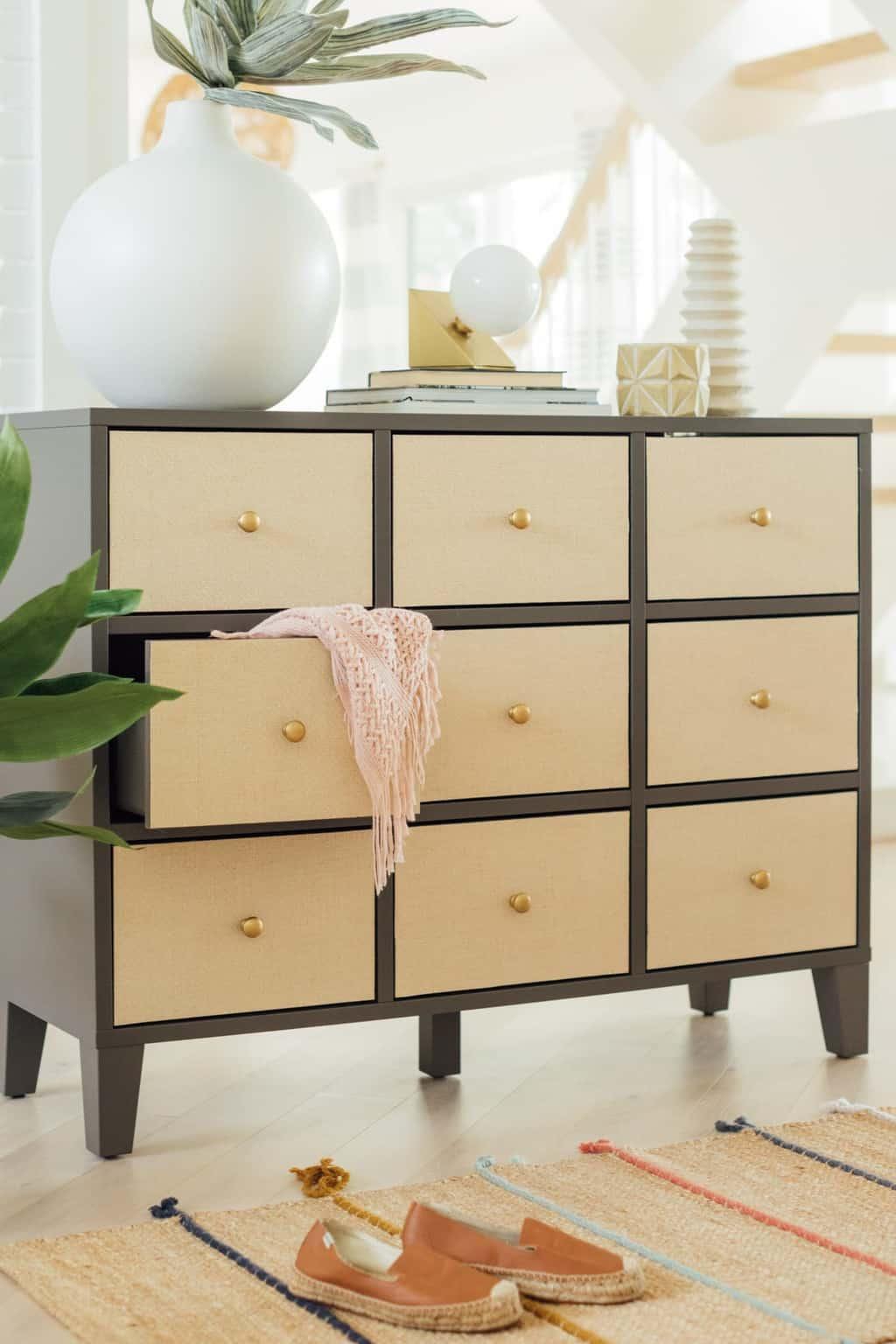 Diy Ikea Drawers How To Make Easy Rattan Drawers Sugar Cloth