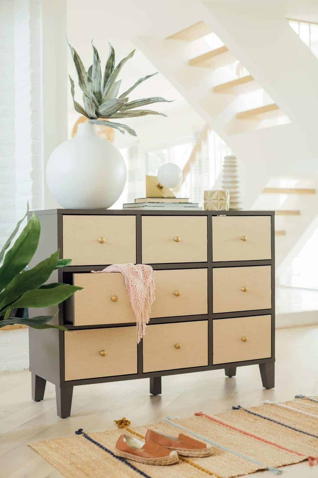 Diy Ikea Drawers How To Make Easy Rattan Drawers Sugar Cloth