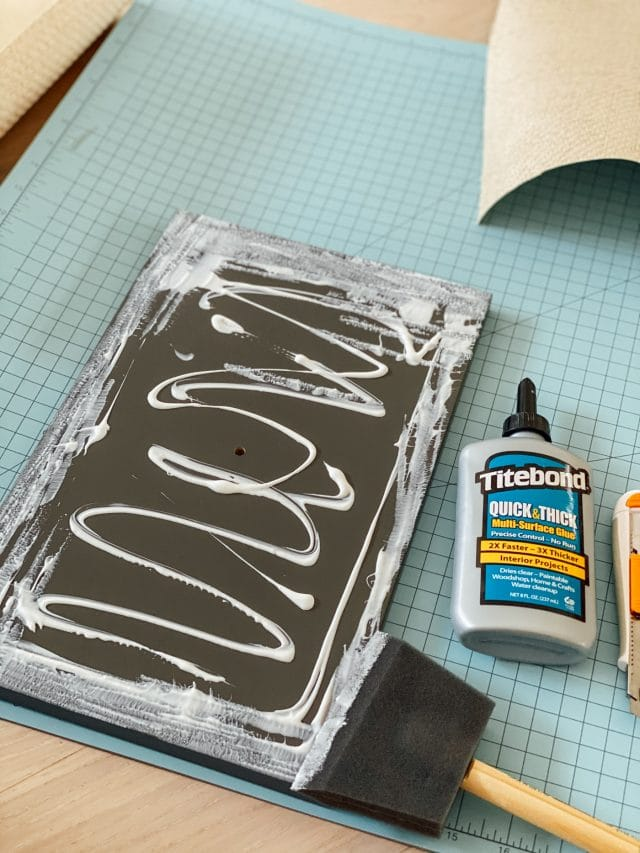photo of titebond glue and a drawer front