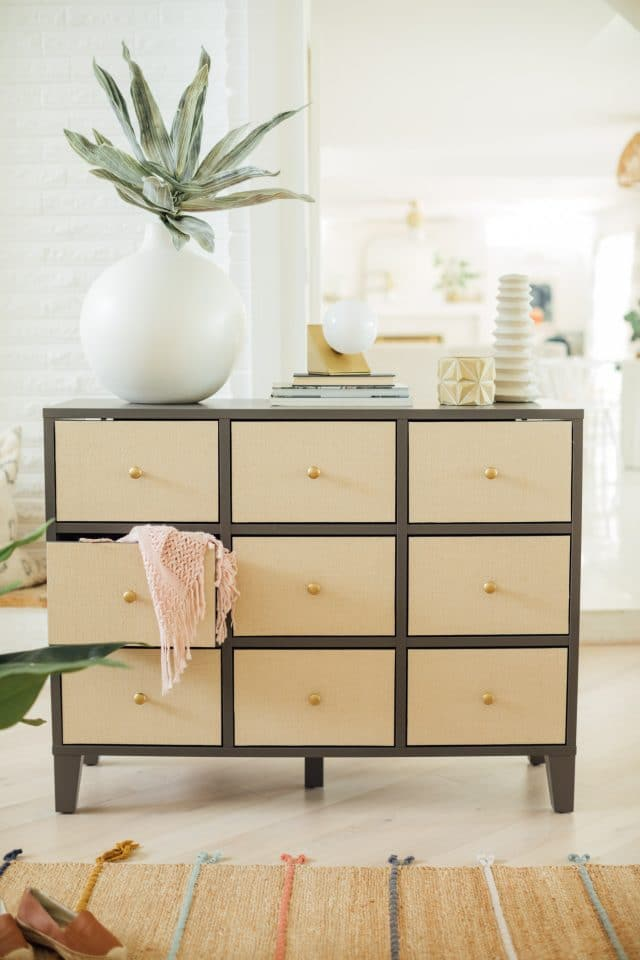 DIY ikea hack chest of drawers