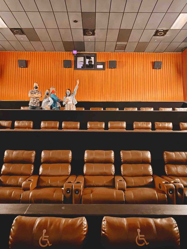 group private showing at cinemark movie theater