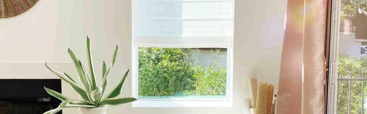 light shining through a studio window