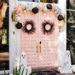 Front Door Decor: Cute Halloween Candy & Ghost Decorations