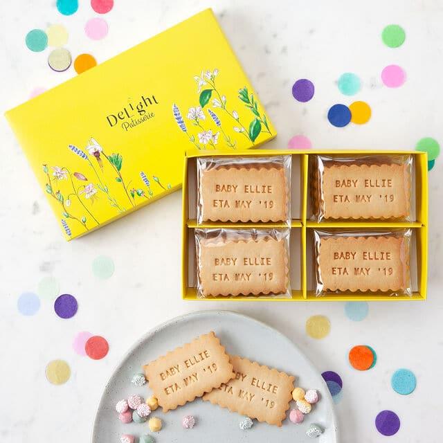 photo of Uncommon Goods Custom Message Shortbread Cookies