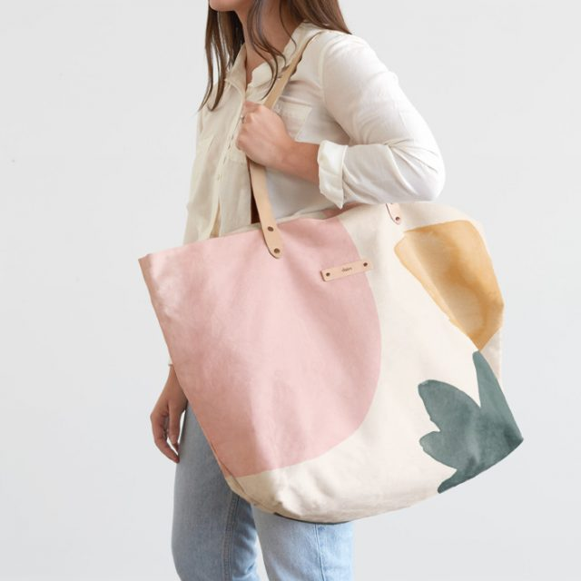 photo of the Minted Personalized Gifts Carry All Slouch Tote