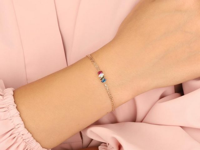 photo of a personalized gifts idea, Birthstone Bracelet