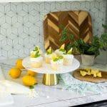 Lemon Cupcakes RecipeWith Lemon Frosting