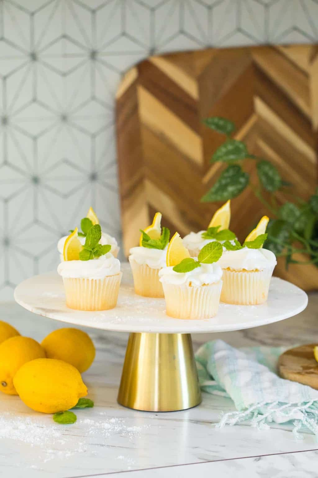 photo of how to make citrus flavorful cupcakes by top Houston lifestyle blogger Ashley Rose of Sugar & Cloth