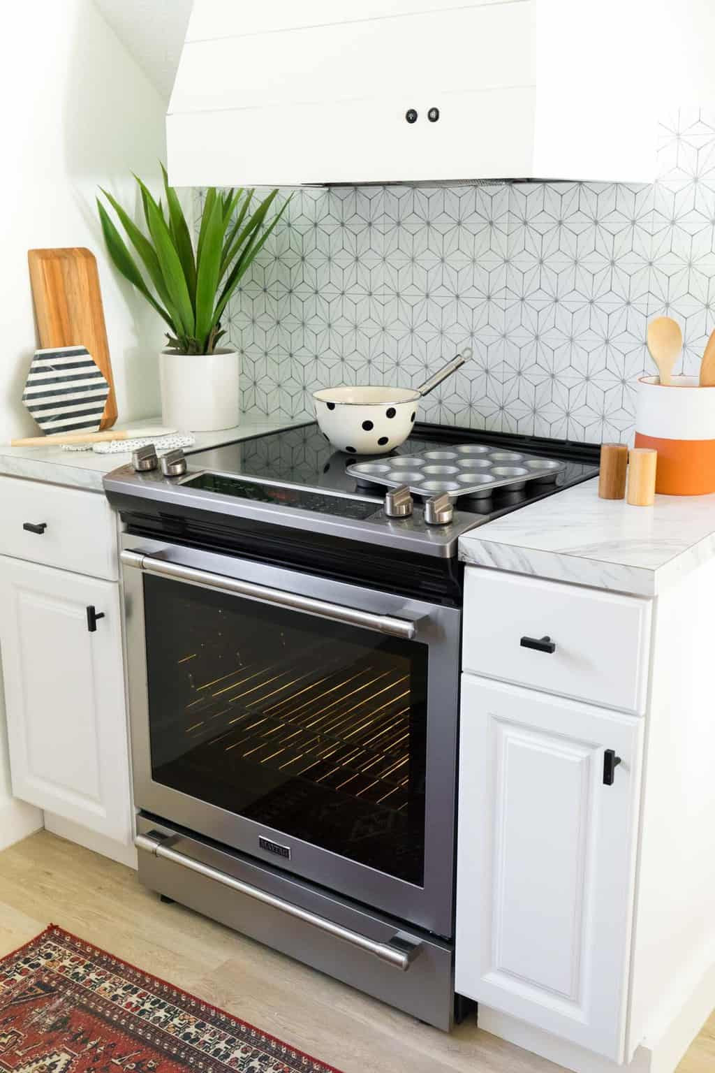 photo of our Maytag oven by top Houston lifestyle blogger Ashley Rose of Sugar & Cloth