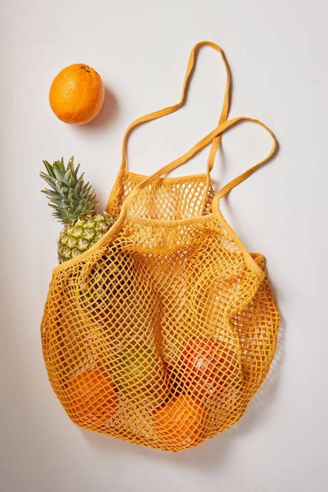 photo of the Market Bag As An Easter Basket Idea by top Houston lifestyle blogger Ashley Rose of Sugar & Cloth