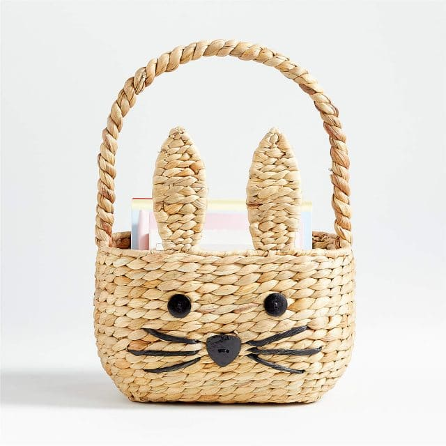 photo of the Natural Bunny Easter Basket by top Houston lifestyle blogger Ashley Rose of Sugar & Cloth