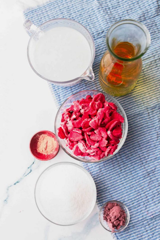 starbucks pink drink recipe - the ingredients used to make the pink drink